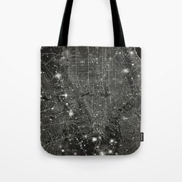 Vintage New Your City Map Tote Bag