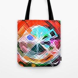 Harlekin abstrakt. Tote Bag