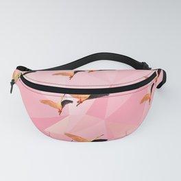 Pink Flamingos Pattern Fanny Pack