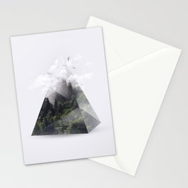 Forest triangle Stationery Cards
