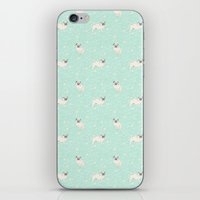 pugs iPhone & iPod Skins featuring Pugs  by Luiza Sequeira