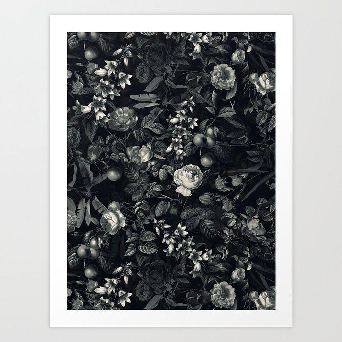 Black Forest III Art Print