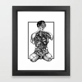 Blossom Surgery : Torso. Framed Art Print