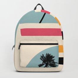 Retro Sunset 01 Backpack