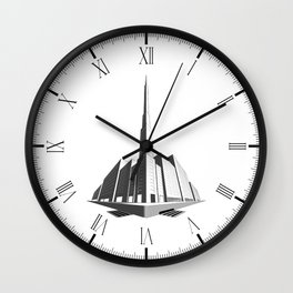 City Block Perspective Wall Clock
