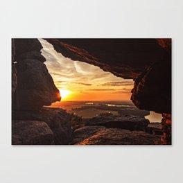 Stouts Point Summer Sunrise Canvas Print