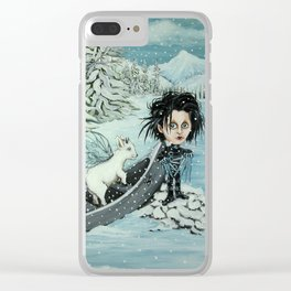 Awkward in Vermont Clear iPhone Case