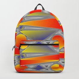 Ornamental pattern Backpack