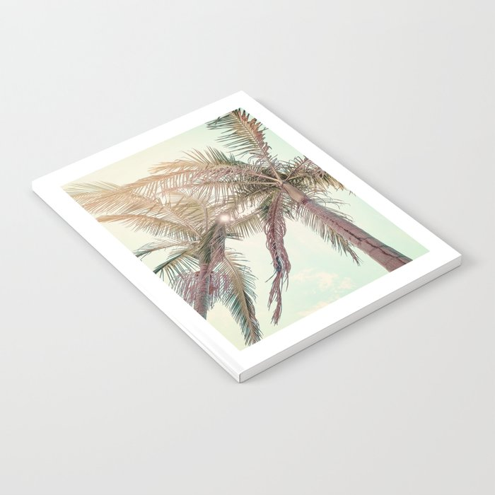 Sunny San Diego Day with Palm Trees Notebook