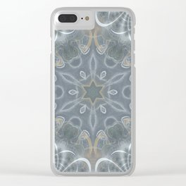 Star mandala Clear iPhone Case