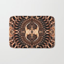 Tribal Mandala Bath Mat