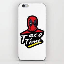 Taco Time iPhone Skin