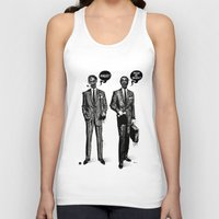 zombies Tank Tops featuring HALLOWEEN ZOMBIES by kravic