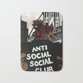 Akuma Anti Social Social Club Bath Mat