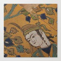 leili and majnoon Canvas Print