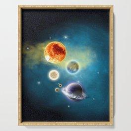 New Solar System Serving Tray