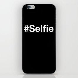 selfie typescript iPhone Skin