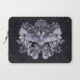 Bat and Swirls Laptop Sleeve