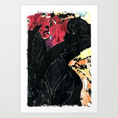 I am Angry with You Art Print