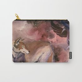Wolf and Crow Carry-All Pouch