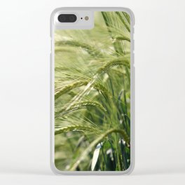 Cereal Harvest Clear iPhone Case