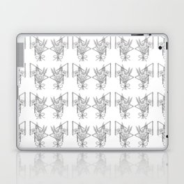 Daisies and Lavender Laptop & iPad Skin