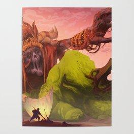 Demon of Misticism Poster