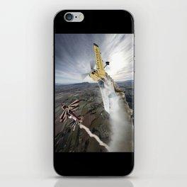 Aerobatic duel iPhone Skin