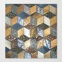 Tumbling Blocks #2 Canvas Print
