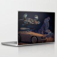 aliens Laptop & iPad Skins featuring Aliens Landscape by Ewan Arnolda