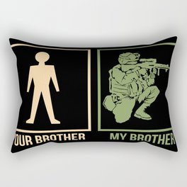 ARMY: Your Brother My Brother Rectangular Pillow