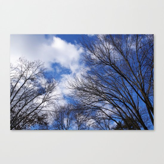 Reaching for the clouds Canvas Print