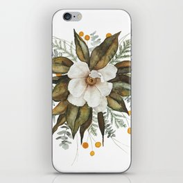 Magnolia Bouquet iPhone Skin
