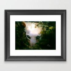 DOG or DEVIL Framed Art Print