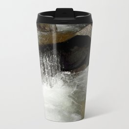 Icy Waters of Fall Creek at Vallecito Travel Mug