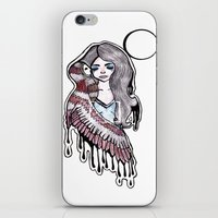 selena gomez iPhone & iPod Skins featuring Selena by meowkitty17