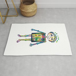 Little robot Rug