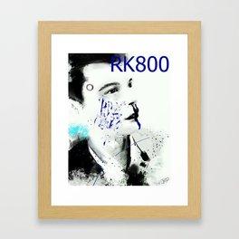 Detroit Become Human: Connor RK800 Framed Art Print