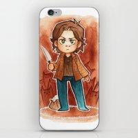 sam smith iPhone & iPod Skins featuring sam by noCek