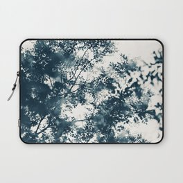Blue Leaves #1 Laptop Sleeve