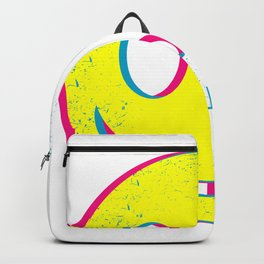Rave Face Frenchcore bpm Hardstyles Backpack