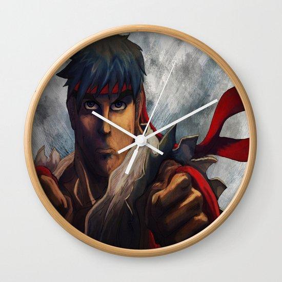 Ryu Focused  Wall Clock