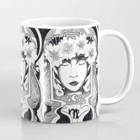 virgo Mugs featuring Virgo by Adrienne S. Price