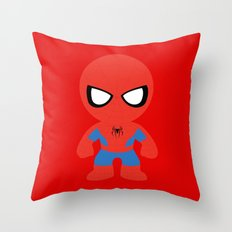 Where's my web? Throw Pillow