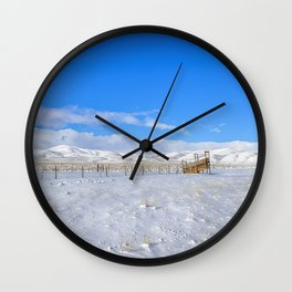 After the Vegans Wall Clock