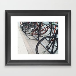 Philly Bikes Framed Art Print