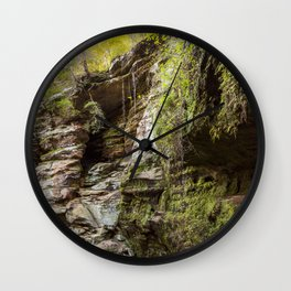 cliff face Wall Clock