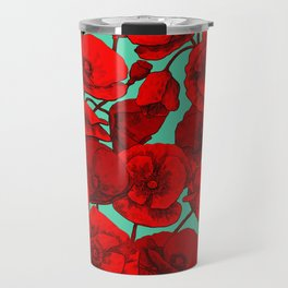 Poppies I Travel Mug
