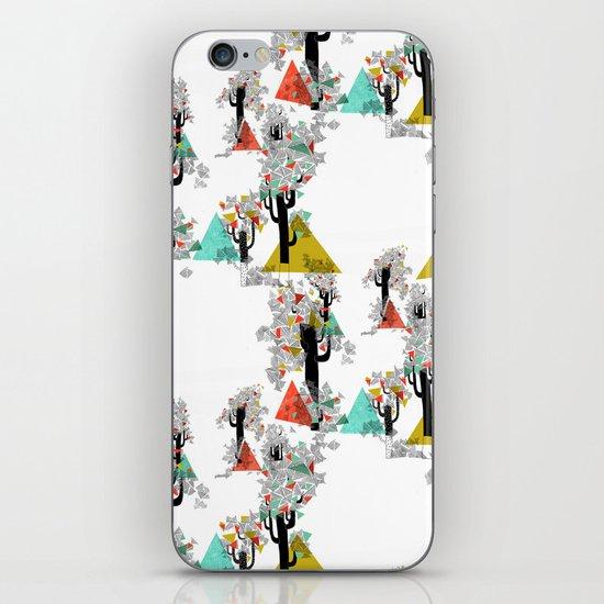 Tree Triangles iPhone & iPod Skin