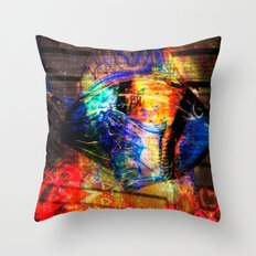 Life In Colors Throw Pillow